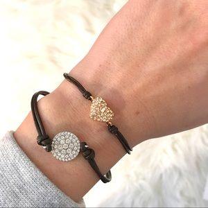 Fossil Wrist Wrap Bracelet Set